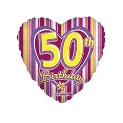 B Foliowy 50 lat  Serce