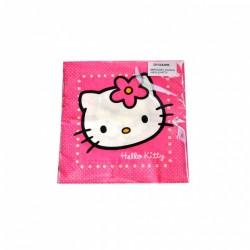 Serwetki Hello Kitty 15szt 3 warstwowe