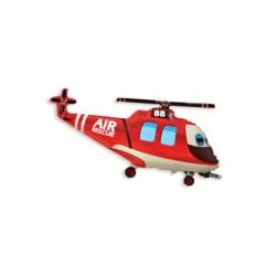 Helikopter czerwony uśmiechnięty  21''
