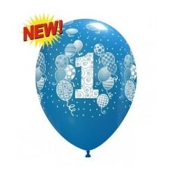 Mam Roczek Miś Niebieski Balon Guma 14''