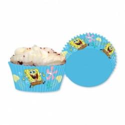 Papilotki do  Muffinek Spongebob 48 szt