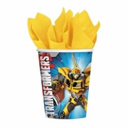 Kubeczki Papierowe Transformers 8 szt 266 ml