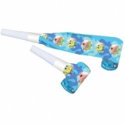 Trąbka , Gwizdek  Spongebob 6 szt