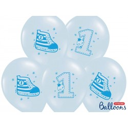 Roczek Trampek Niebieski Balon Guma 14''