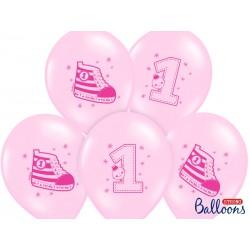 RoczekTrampek Różowy Balon Guma 14''