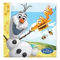 Serwetki Olaf  Frozen 20 szt