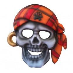 Maska z pianki czaszka pirata