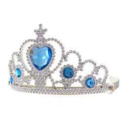 Tiara księżniczki z niebieskimi Kamyczkami