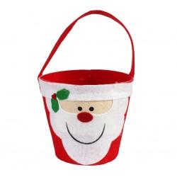 Koszyczek Filcowy Mikołaj