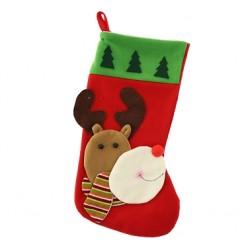Skarpeta Świąteczna Renifer w szaliku