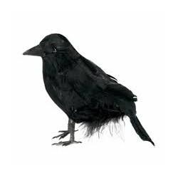 Kruk Ptak sztuczny czarny