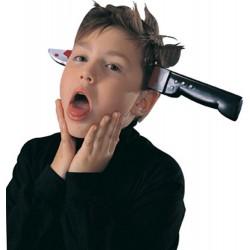 Opaska nóż w głowie