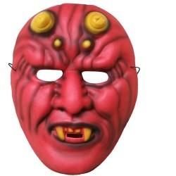 Maska z pianki wesoły diabeł