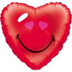 """Balon Foliowy Serce uśmiech Anagram 18"""""""