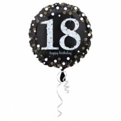 B Foliowy 18 lat czarny  anagram 18''