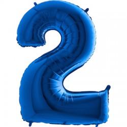 B Foliowy Numer 2 niebieski