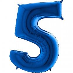 B Foliowy Numer 5 niebieski