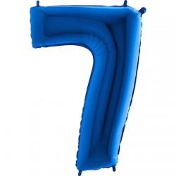 B Foliowy Numer 7 niebieski