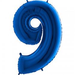 B Foliowy Numer 9 niebieski