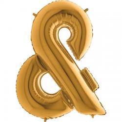 B Foliowy Litera & złota