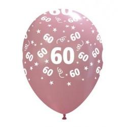 Numerek 60 Lat Guma Mix Kolorów