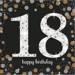 Serwetki 18 urodziny 9900556