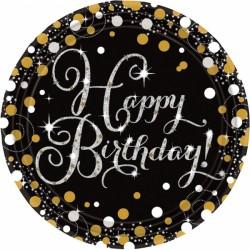 Talerze Happy Birthday 9900548