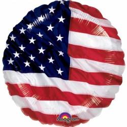 Balon oliowy flaga amerykańska 115228