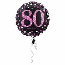 Balon foliowy 90 lat 3379001