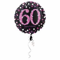 Balon foliowy 60 lat 3378801