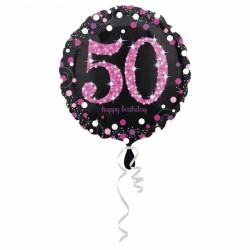 Balon folowy 50 lat 3378701