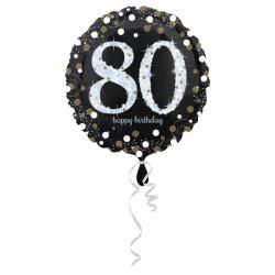 Balon foliowy 80 lat 3374201