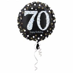 Balon foliowy 70 lat 3374101