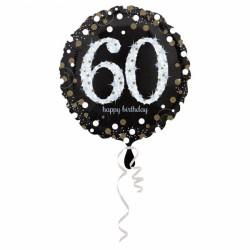 Balon foliowy 60 lat 3213201