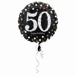 Balon foliowy 50 lat 3213101