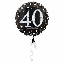 Balon foliowy 40 lat 3213001