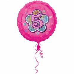 Balon foliowy 5 urodziny 2954701