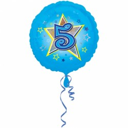 Balon foliowy 5 urodziny 2953601