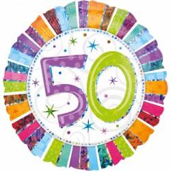 Balon foliowy 50 urodziny 16071