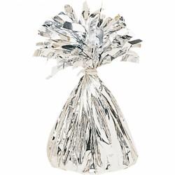Ciężarek o balonów srebrny 991365-18