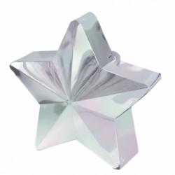Ciężarek do balonów gwiazda biała 117800-15
