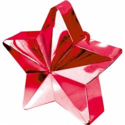 Ciężarek do balonów gwiazda czerwona 117800-07