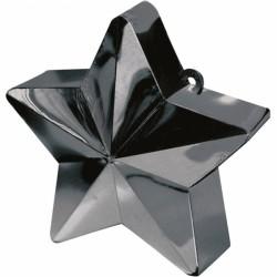 Ciężarek do balonów gwiazda czarna 117800-10