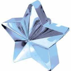 Ciężarek do balonów gwiazda błękitna 117800-11