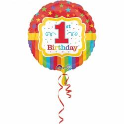Balon foliowy 1 urodziny 3357001