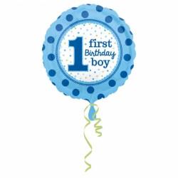Balon foliowy 1 urodziny chopca 3254101
