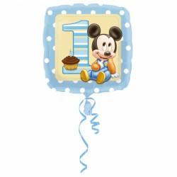 Balon foliowy Miki 1 urodziny 2308101