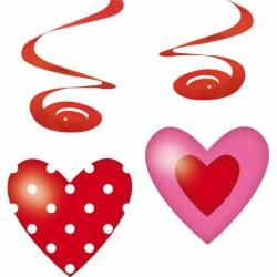 Spirala dekoracyjna serca 400232