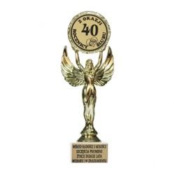 40 rocznica ślubu statuetka