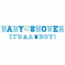 2 szt Baner Baby Shower Chlópiec
